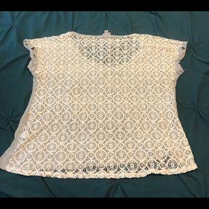 Vanity Skull Lace Shirt